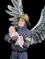 Guardian Angel Figurine - Firefighter