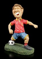 Funny Sports Figurine - Soccer Player One