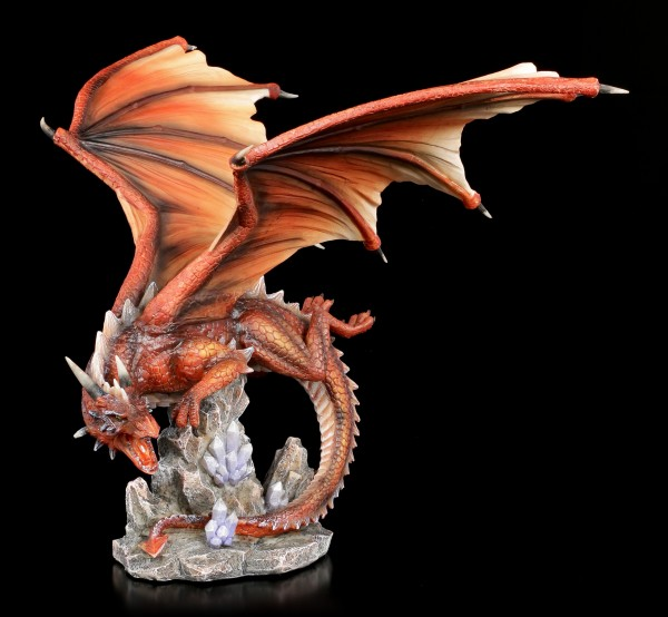 Red Dragon Figurine - Fire Star
