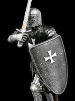 Black Crusader Figurine - Attack Position