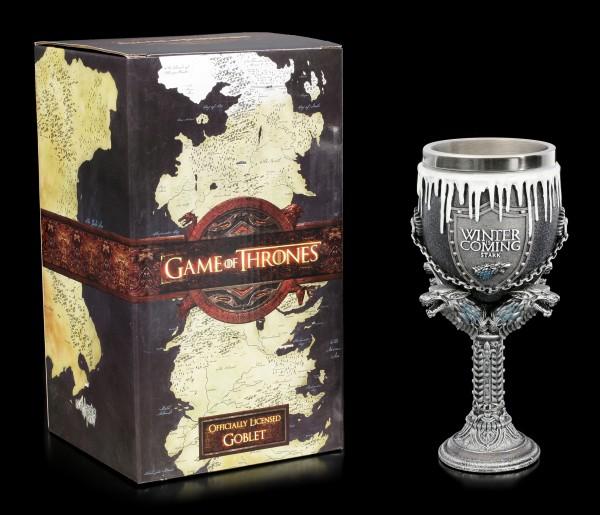 Game of Thrones Goblet - House Stark
