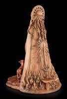 Celtic Goddess Figurine - Brigid - The Shiny
