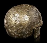 Aztec Skull - bronzed