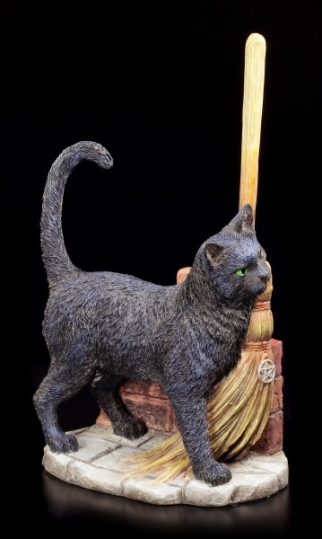 Katzen Figur - A Brush with Magic by Lisa Parker