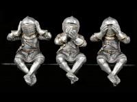 Knight Figurines Shelf Sitter - No Evil