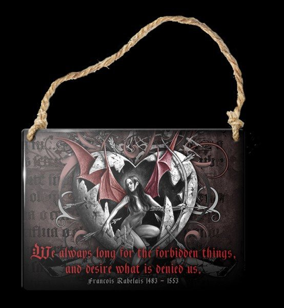Alchemy Metal Sign small - Forbidden Things