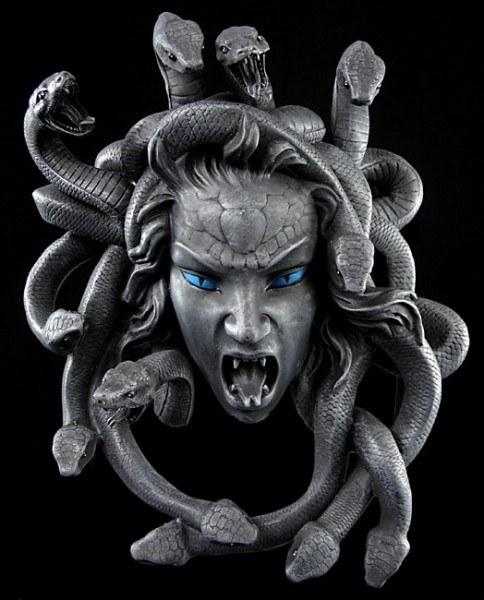 Medusa Wall Plaque
