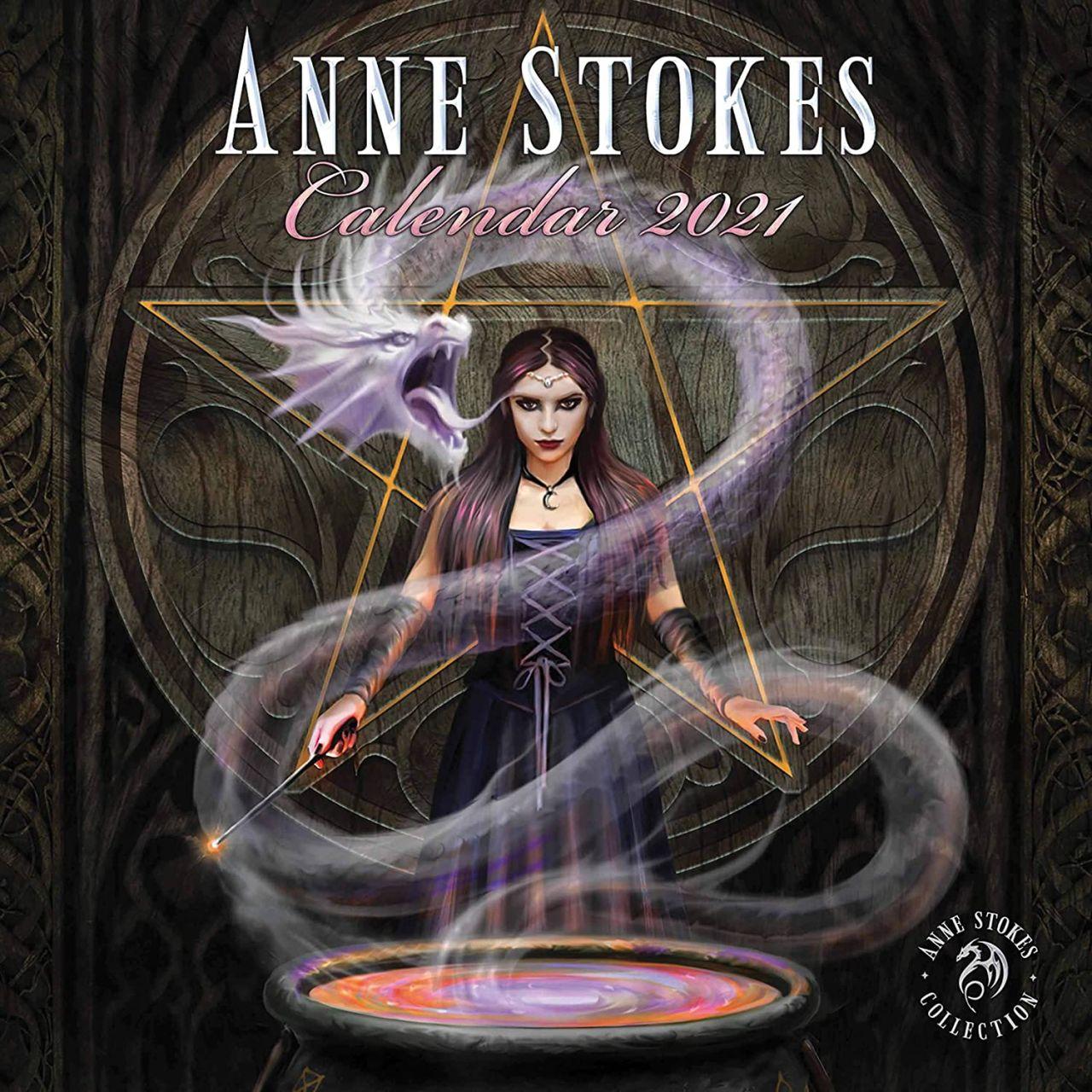 Anne Stokes Calendar 2021 - Fantasy