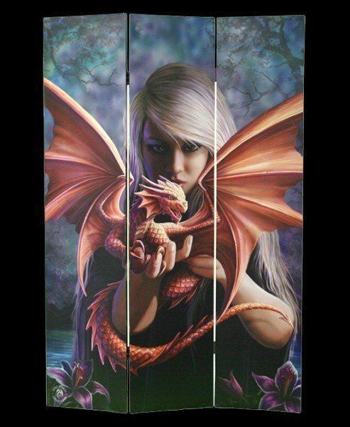 Raumteiler - Dragonkin by Anne Stokes
