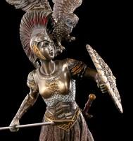 Athena Figur mit Eule
