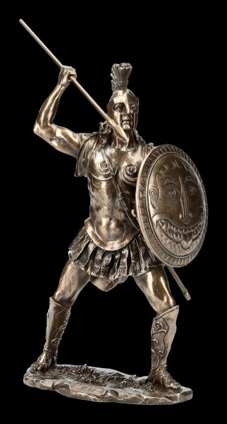 Ajax The Great Figurine with Spear and Shield