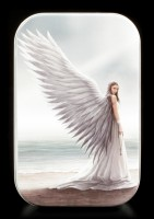 Metall Dose mit Engel - Spirit Guide by Anne Stokes