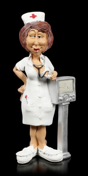 Funny Job Figur - Kardiologie Krankenschwester