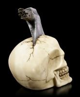 Skull with Axe in the Head - Skullsplitter