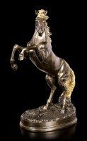 Pferde Figur - Mustang mit goldener Mähne