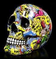 Colourful Skull - Graffiti