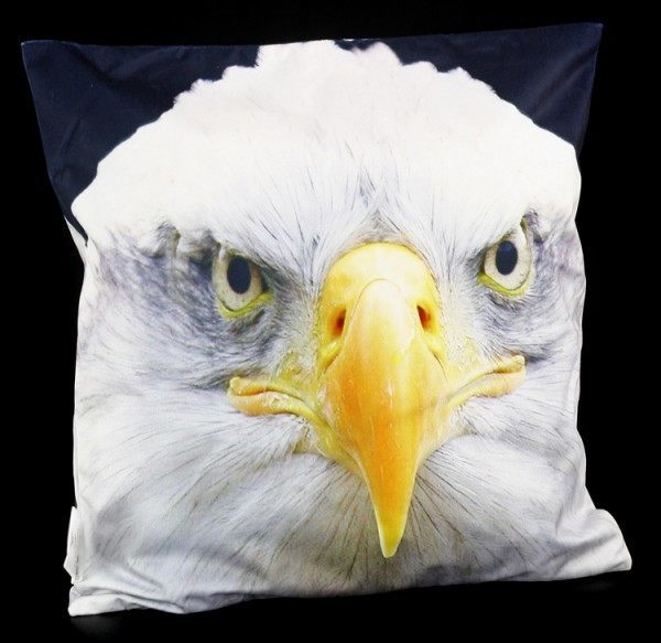 Cushion Cover - Bald Eagle Head