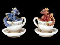 Drachen in Tasse Figur - Dracuccino Set