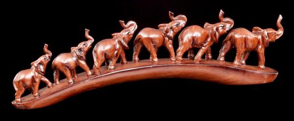 Elefanten Figuren - Die Herde marschiert