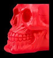 Totenkopf Neon - Psychedelisches Pink