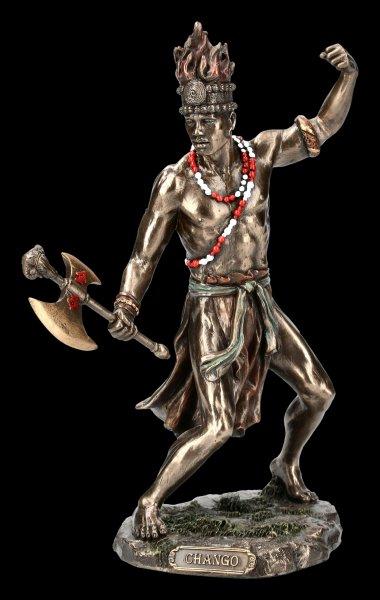 Chango Figurine - Shango Orisha Thunder God