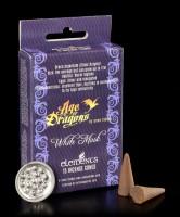 Incense Cones white Musk - Silver Dragon
