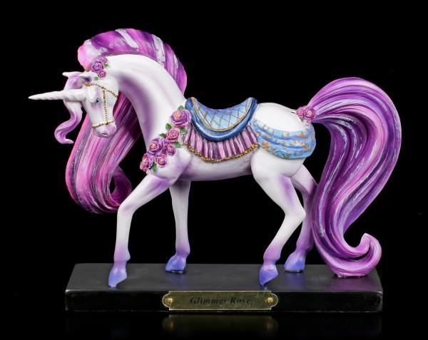 Einhorn Figur - Glimmer Rose