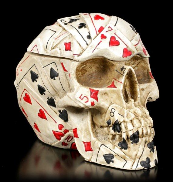 Totenkopf Dose - Poker Skull