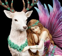 Fairy Figurine - Fawna with Stag
