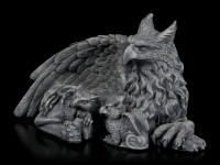 Griffin Figurine with two Babys