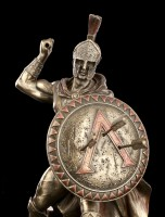 Leonidas I. Figurine with Shield and Spear