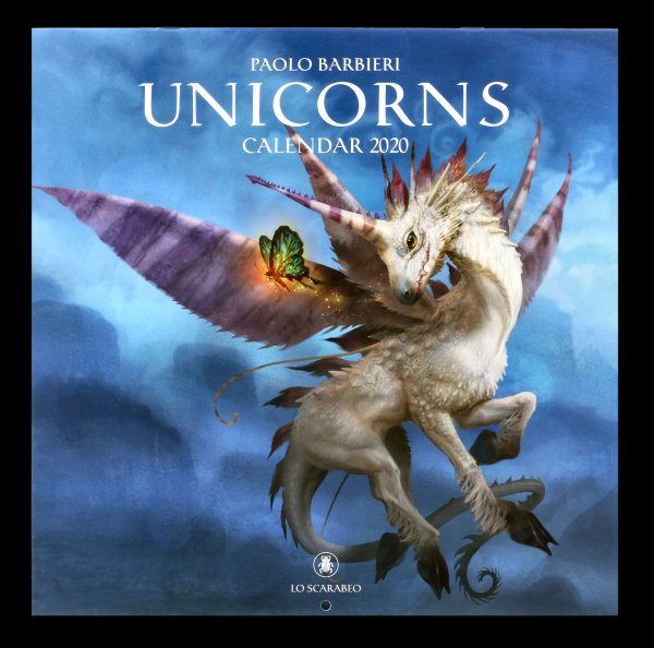 Unicorn Calendar 2020