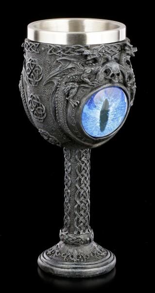 Dragon Goblet - Ice Dragon's Glare