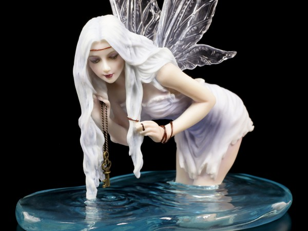 Fairy Figurine - Fishing for Riddles by Selina Fenech