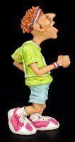 Marathon Runner - Funny Sports Figurine