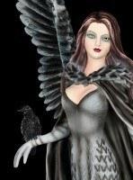 Dark Angel Figurine - Raven Queen