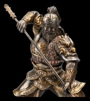Chinese Warrior Figurine - Zhang Fei