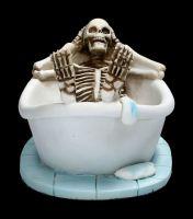Skeleton Figurine - Take a Bath