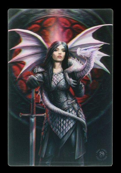 3D Postcard with Dragon - Valour