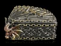 Drachen Schatulle mit Schwertern - Dragon Kingdom