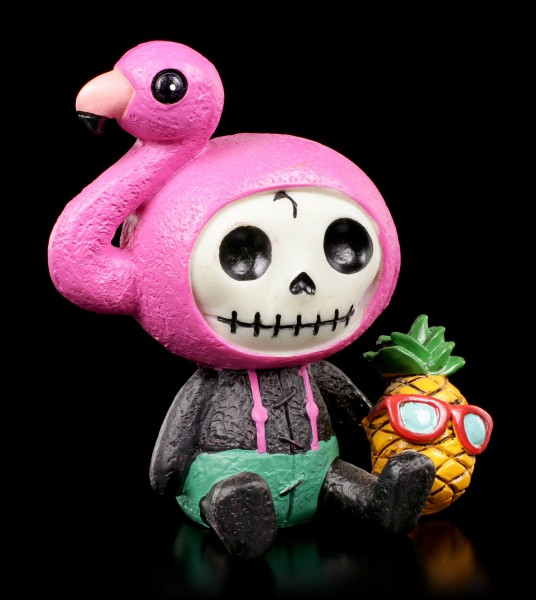 Furry Bones Figurine - Flamingo Star