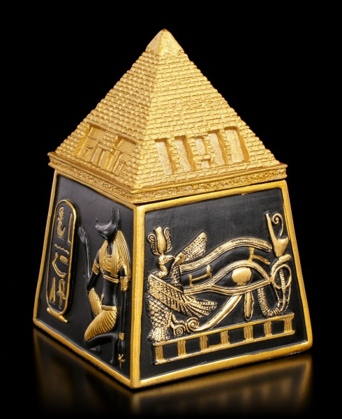 Egyptian Box with Pyramid