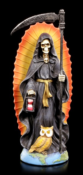 Reaper Figur - Santa Muerte - schwarz