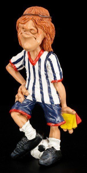Schiedsrichter - Funny Sports Figur