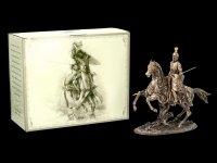 Ritter Figur - Kavalier mit Pferd und Speer