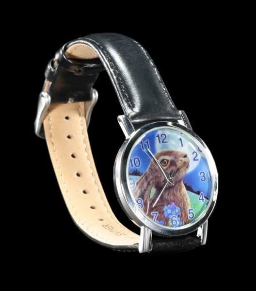 Armbanduhr Hase - Moon Gazing Hare