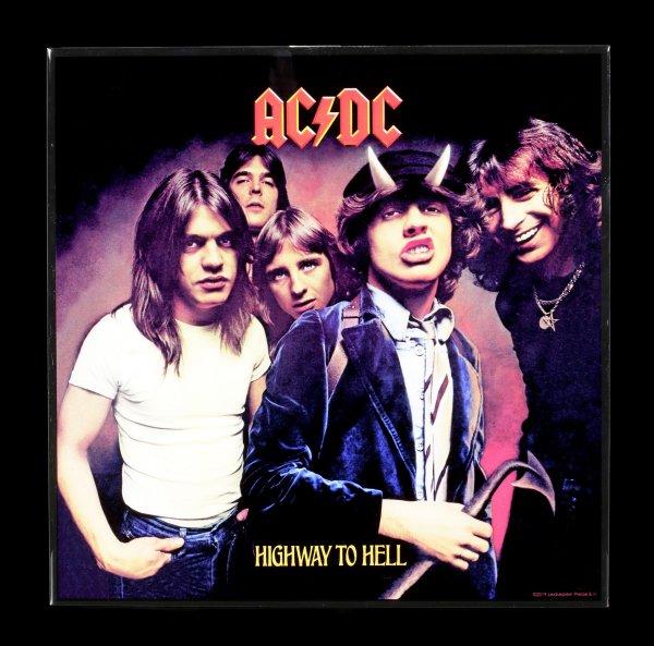 AC/DC Hochglanz Bild - Highway to Hell