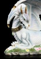 Bunte Drachen Figur mit Halsband