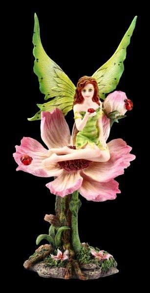 Fairy Figurine - Katy sitting on Flower