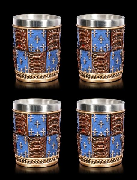 Medieval Shot Cups - Set of 4